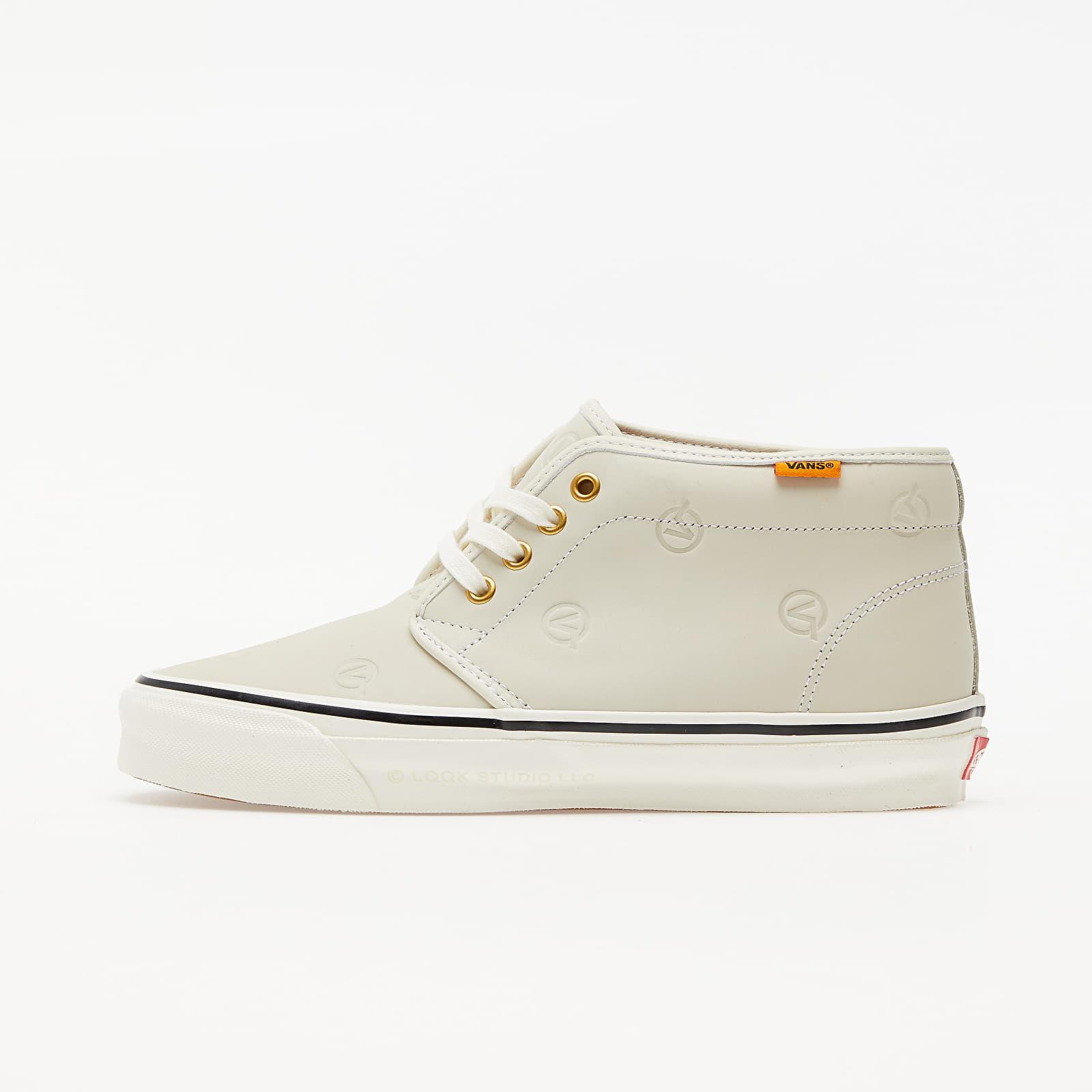 Férfi cipők Vans OG Chukka Boot LX (LQQK Studio) Circle V Cream