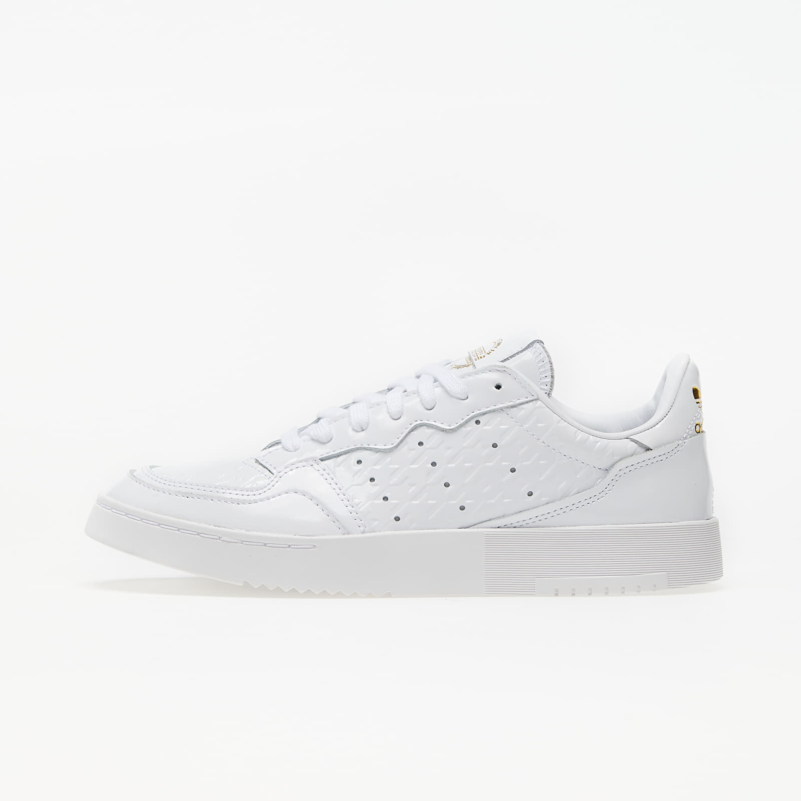 Chaussures et baskets femme adidas Supercourt W Ftw White/ Ftw White/ Gold Metalic