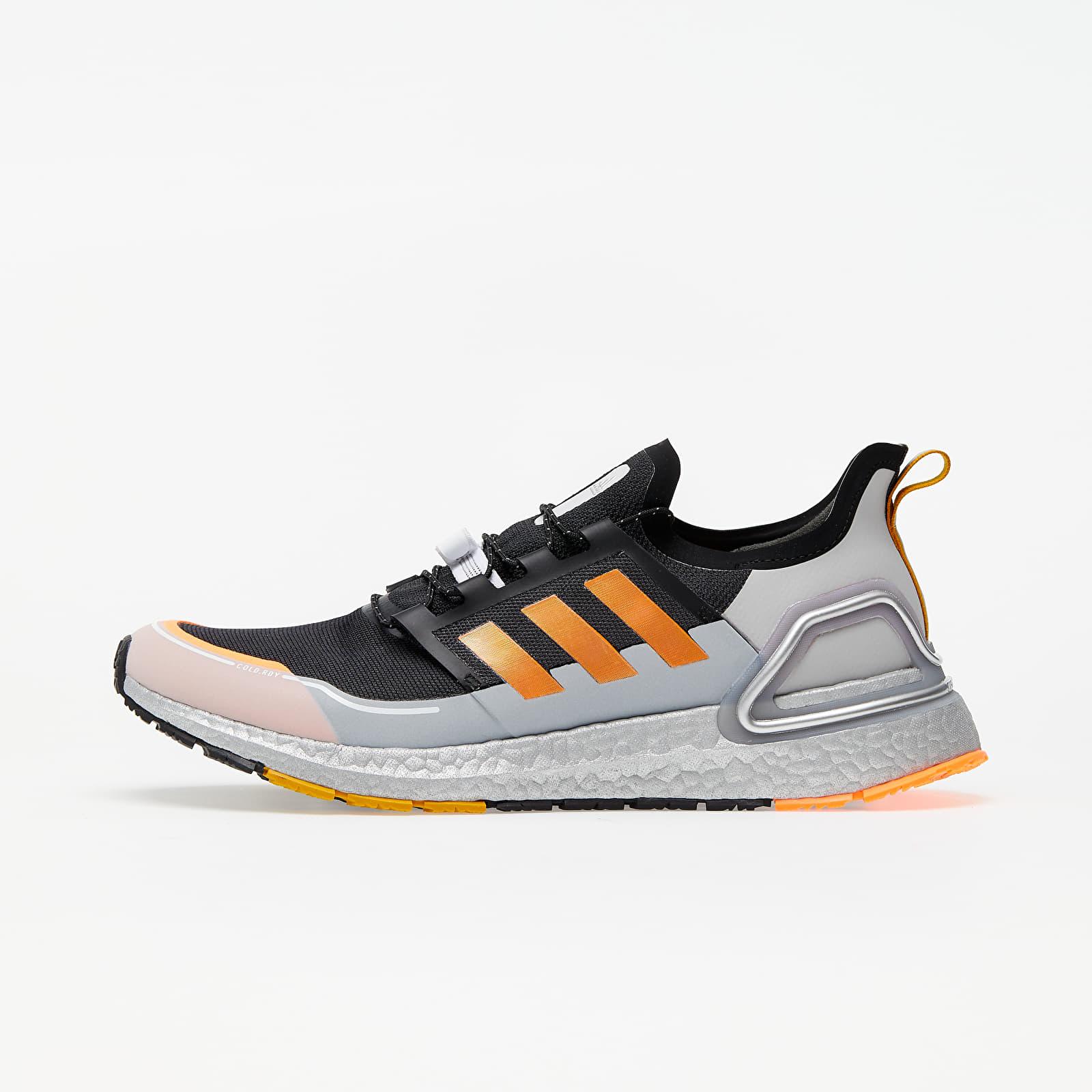 Pánske tenisky a topánky adidas UltraBOOST COLD.RDY Core Black/ Signature Orange/ Legend Gold
