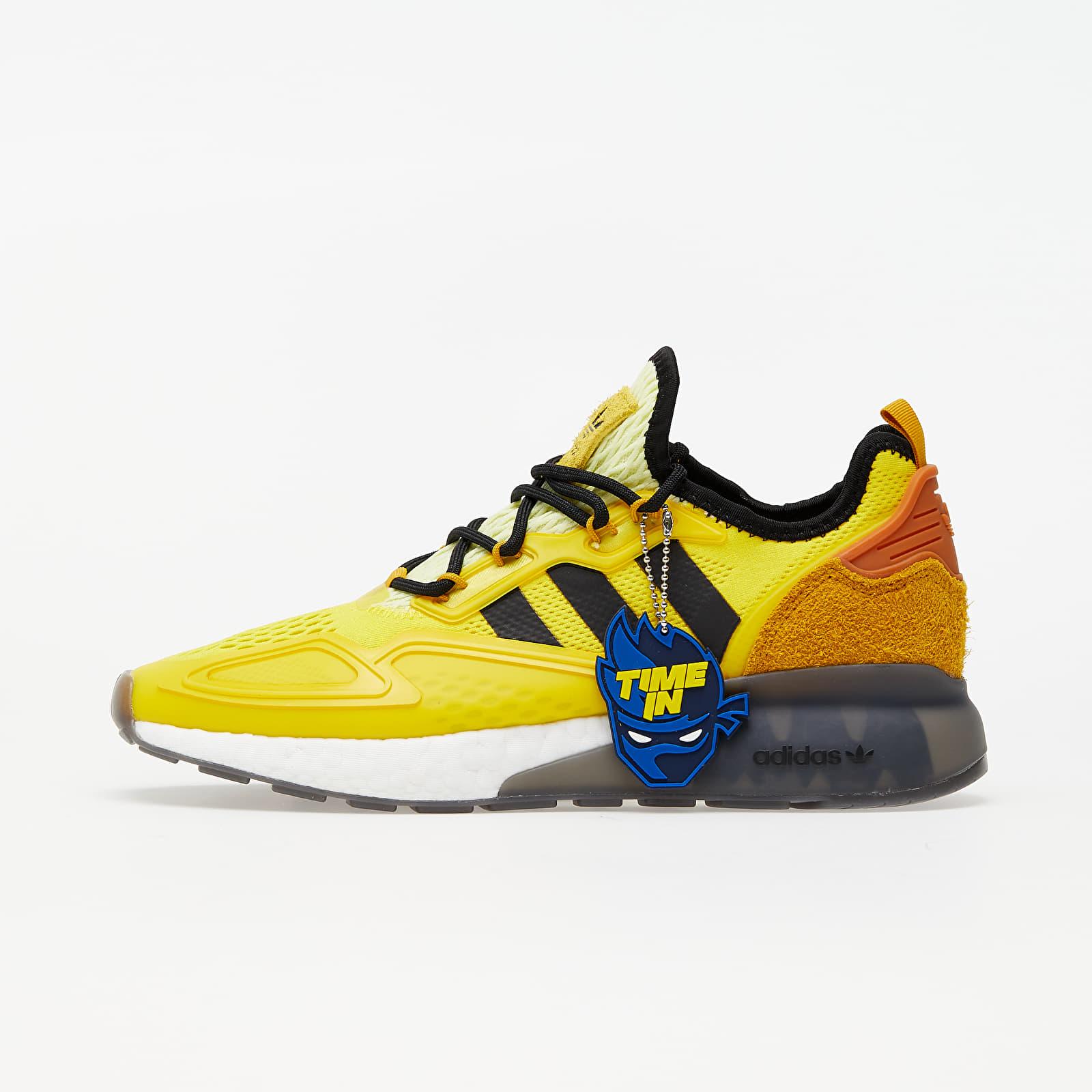 adidas x Ninja ZX 2K Boost Yellow/ Legend Gold/ Tech Copper   Footshop