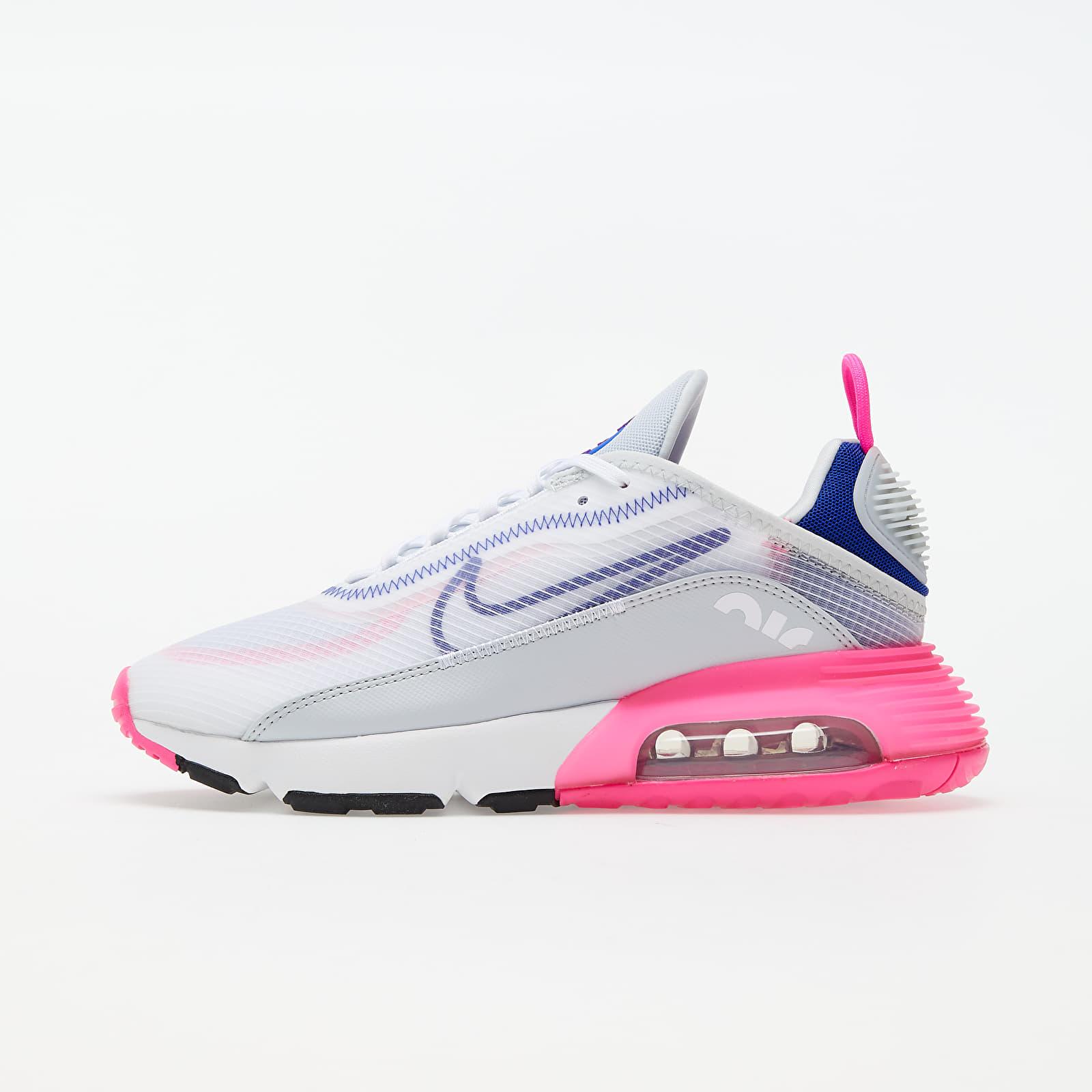 Nike W Air Max 2090 White/ Concord-Pink Blast-Pure Platinum EUR 40.5