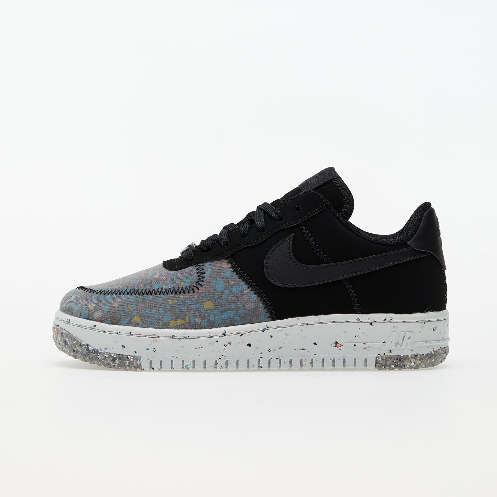 Încălțăminte și sneakerși pentru femei Nike W Air Force 1 Crater Black/ Black-Photon Dust-Dk Smoke Grey