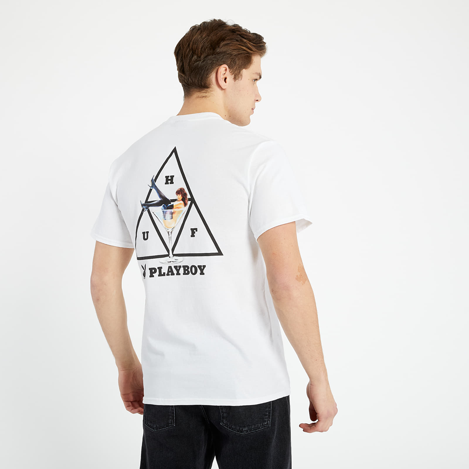 diluido Sicilia idiota  T-shirts HUF x Playboy Playmate TT S/S TEE White | Footshop