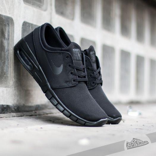 La nuestra Máquina de recepción Erudito  Men's shoes Nike Stefan Janoski Max Black/ Black-Anthracite-Black | Footshop