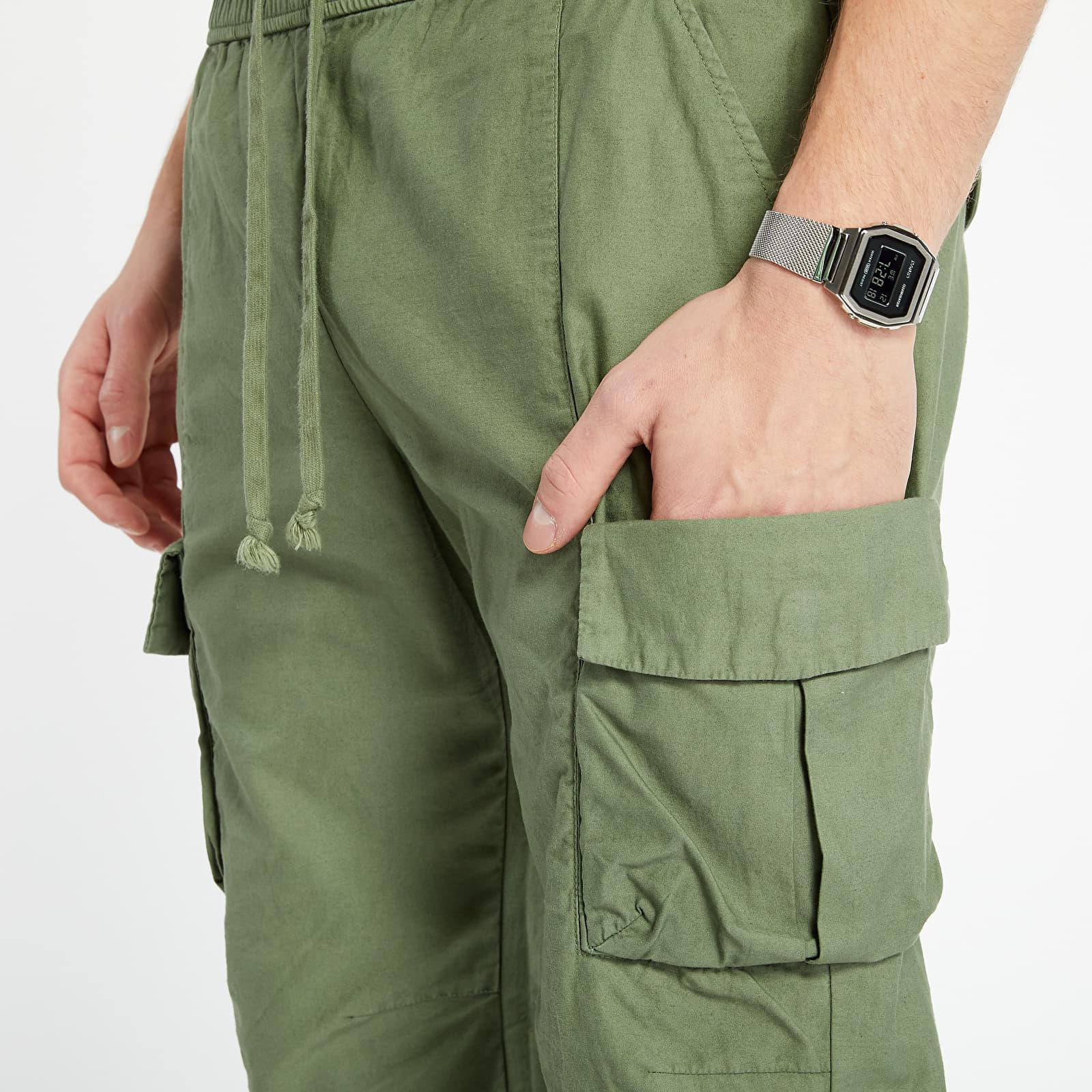 Pants and jeans John Elliott Back Sateen Cargo Pants Olive
