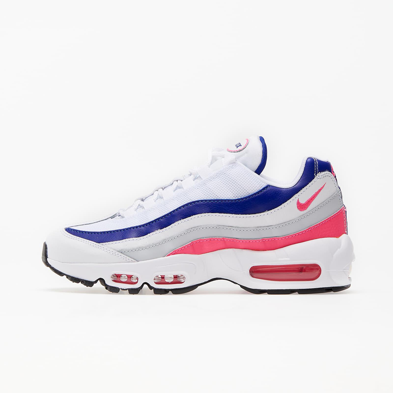 Nike Wmns Air Max 95 White/ Hyper Pink-Concord-Pure Platinum EUR 36