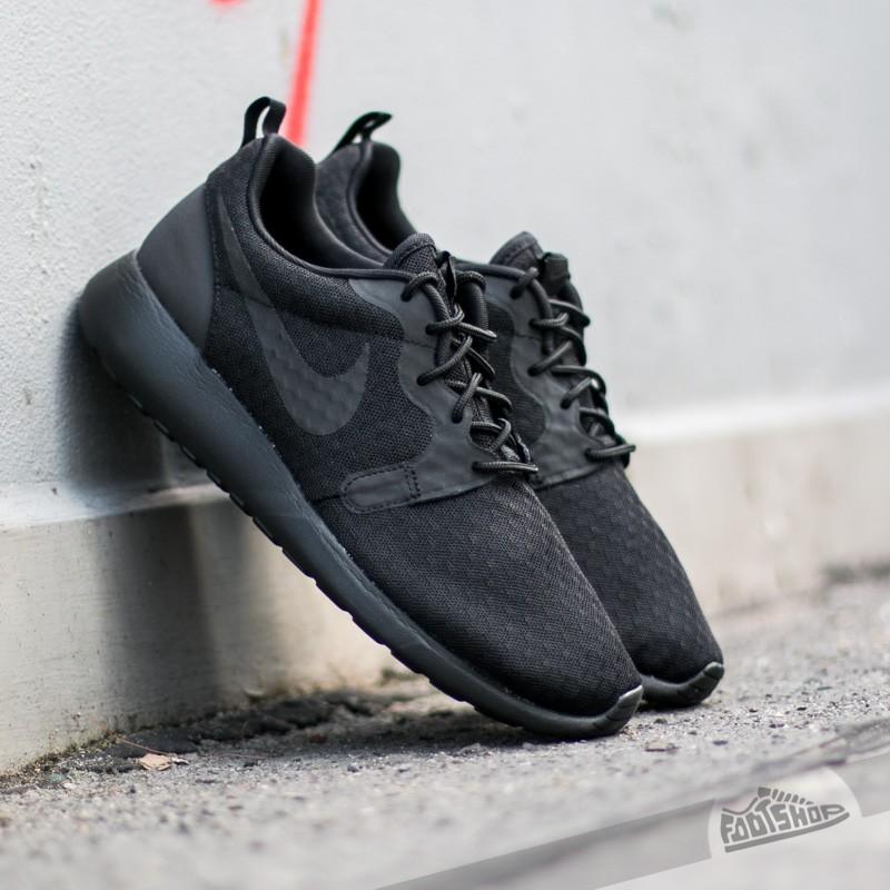 Extremistas proyector Delegación  Men's shoes Nike Roshe One Hyp Black/Black | Footshop