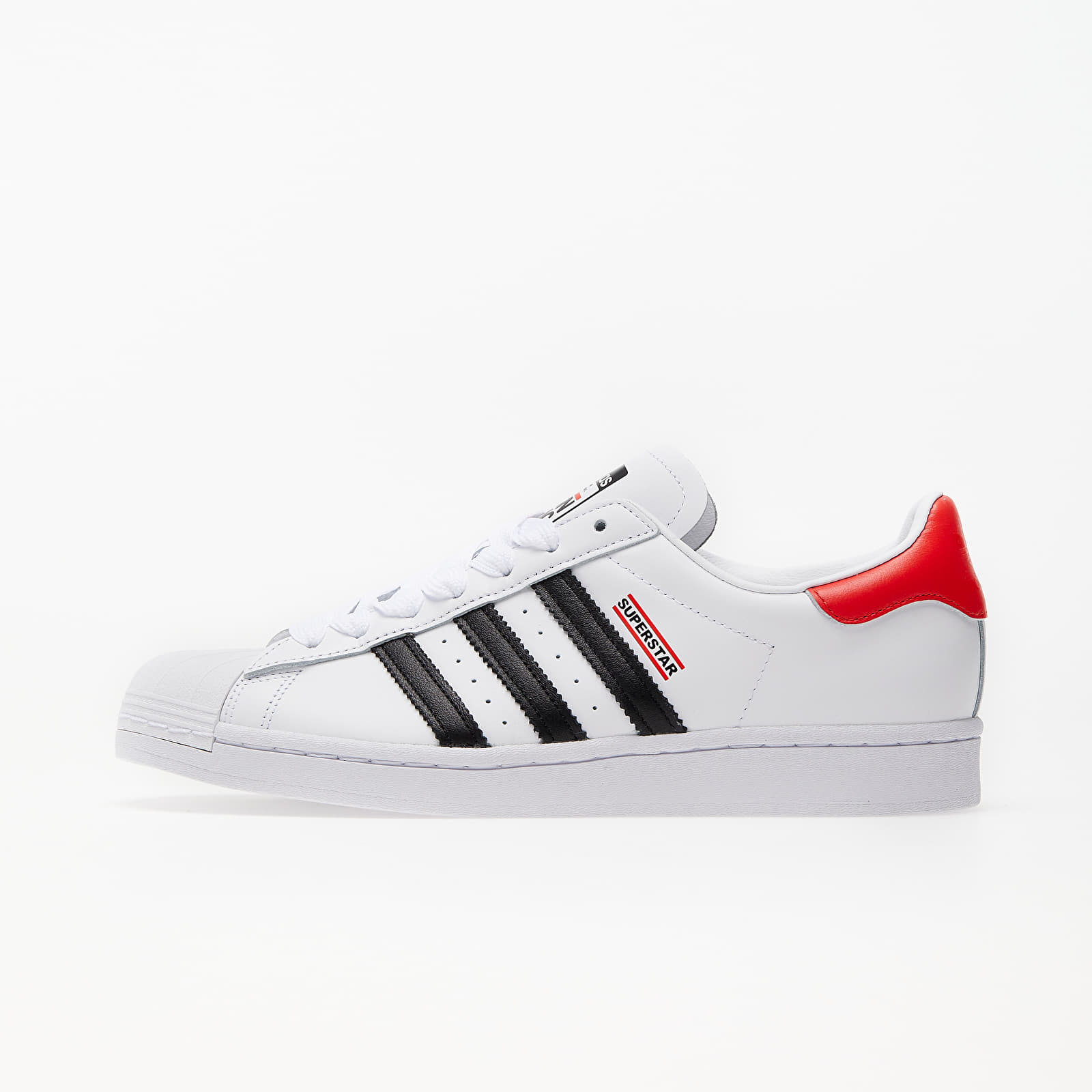 Мъжки кецове и обувки adidas x RUN DMC Superstar 50 Ftw White/ Core Black/ Hi-Res Red