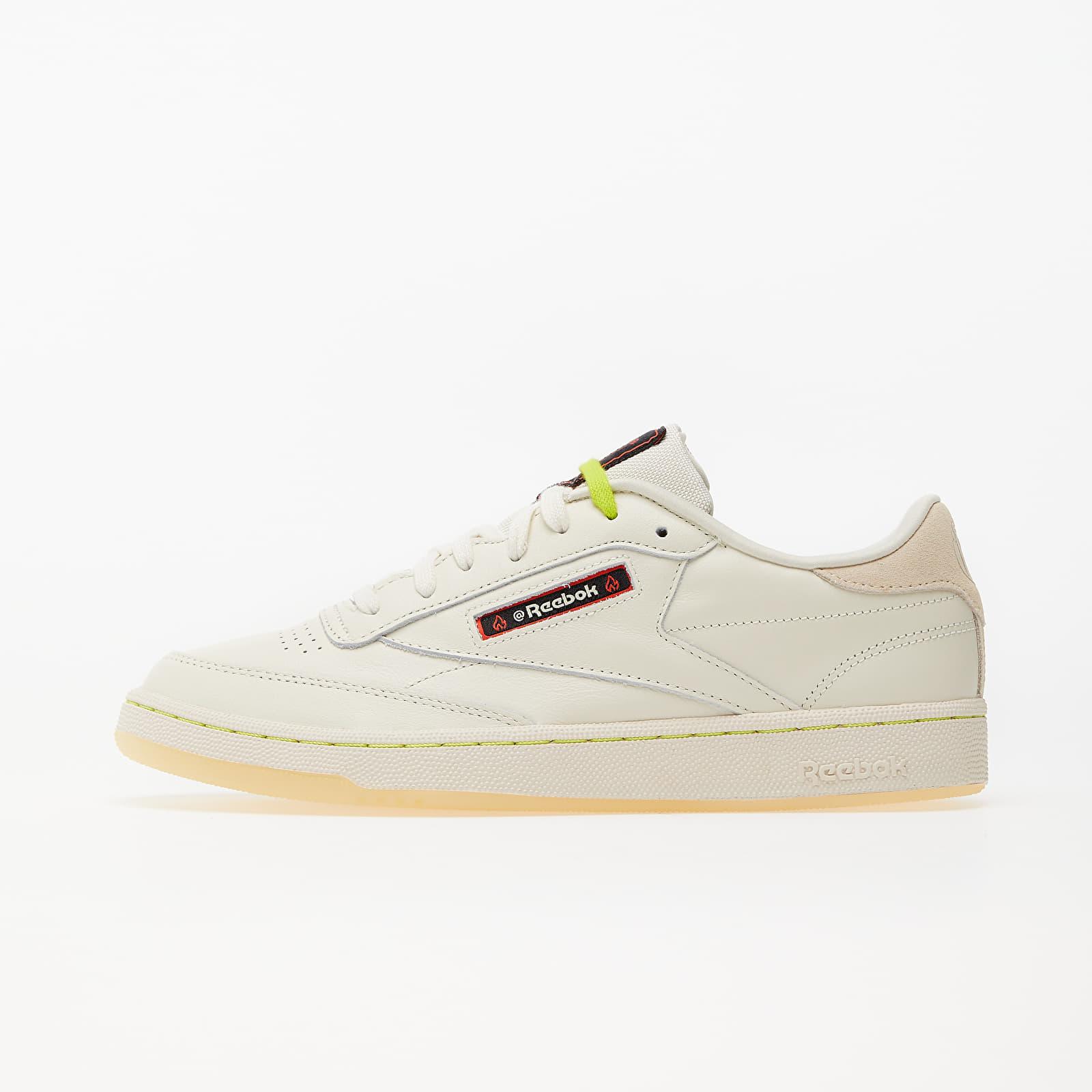Pánske tenisky a topánky Reebok x Hot Ones Club C 85 Classic White/ Paperwhite/ Sandtrap