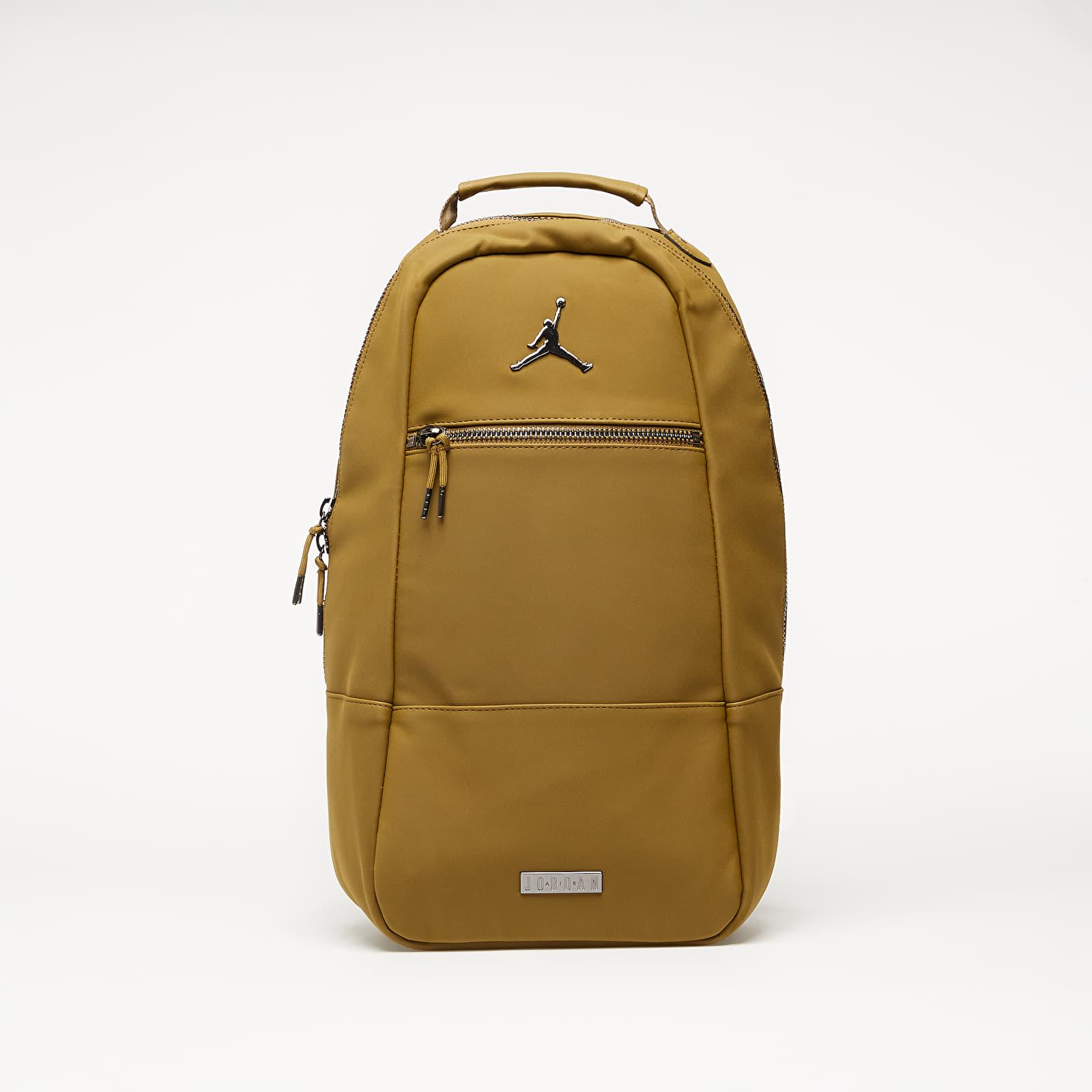 Backpacks Jordan Suede Collaborator Pack Olive Flak