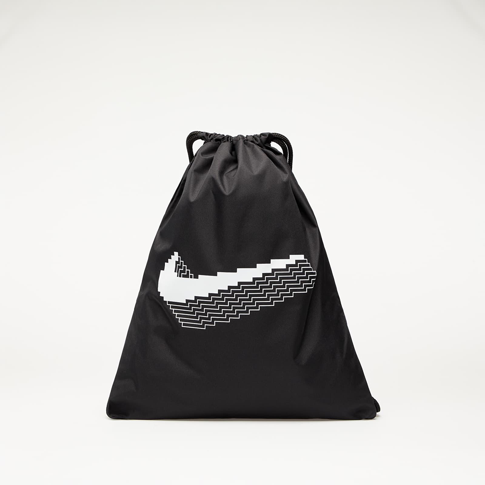 Nike Y Nike Gymsack - GFX FA20 Black/ Black/ White EUR