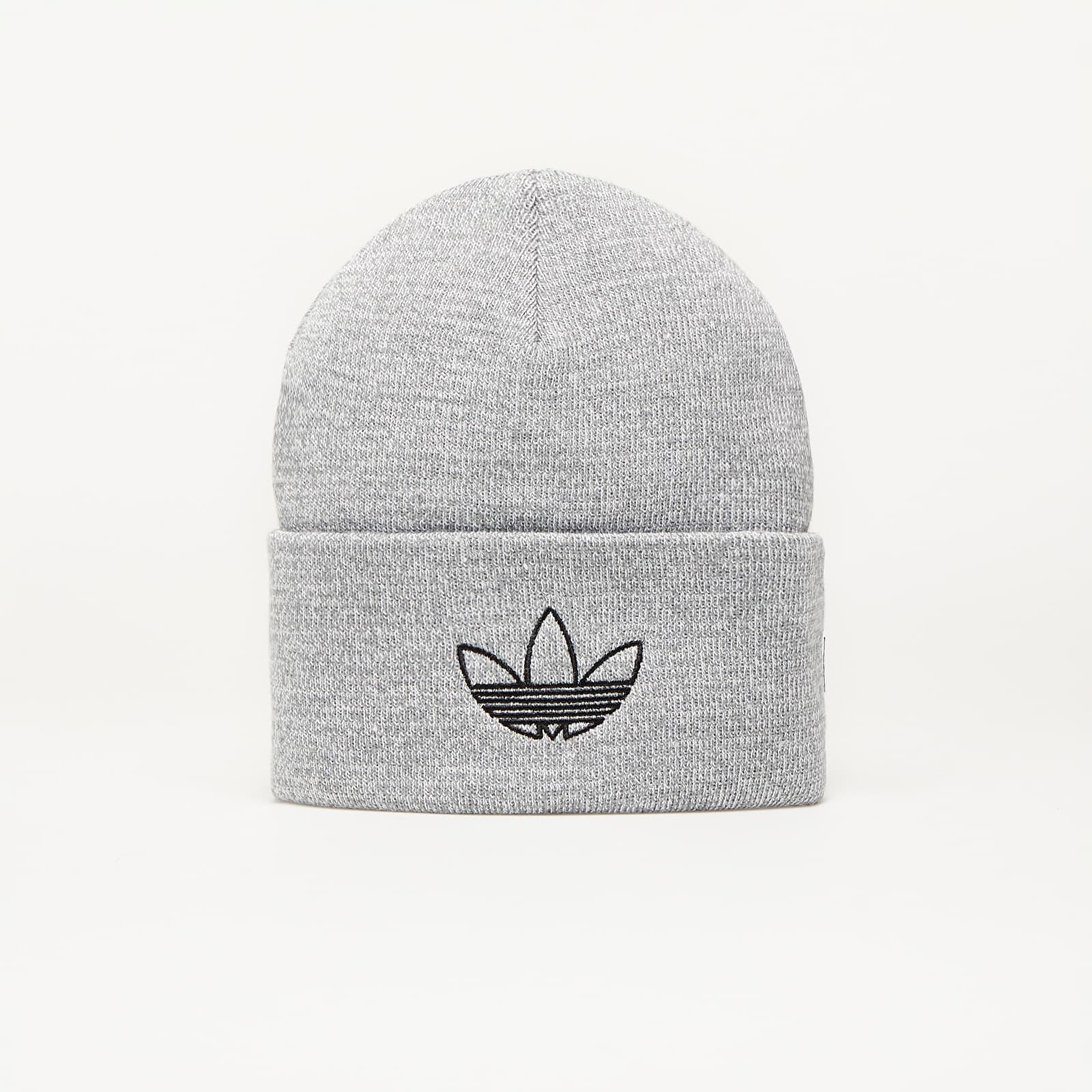 Hats adidas Outline Cuff Multi Solid Grey/ Silvmt