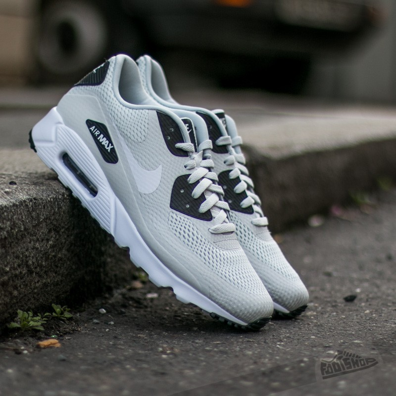 official photos d882a 38624 Nike Air Max 90 Ultra Essential Light Base Grey  White-Anthracite-White