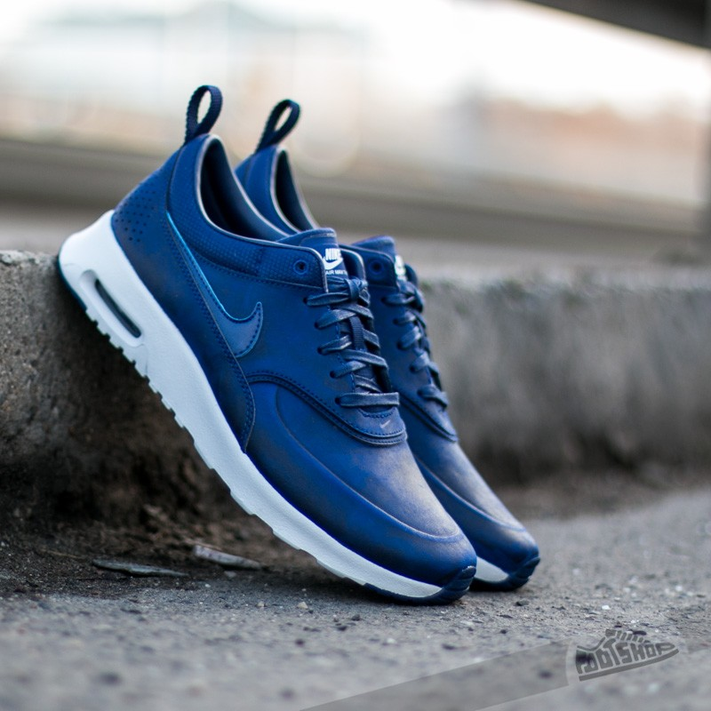 60d59733ec5a Nike WMNS Air Max Thea Premium Loyal Blue Loyal Blue-Summit White-White