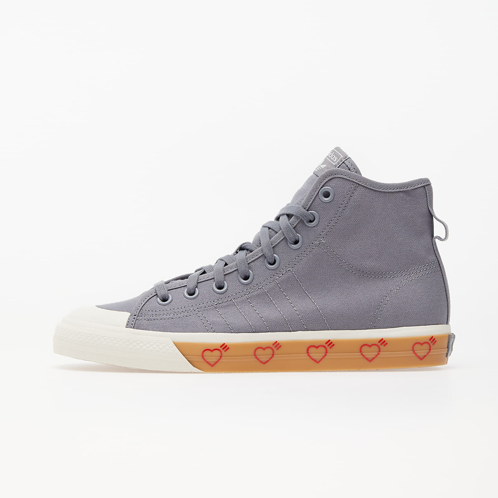 adidas Nizza Hi Human Made Grey Five/ Grey Five/ Grey Five EUR 36
