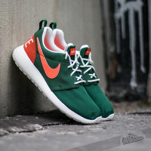 best website 8ff66 236c0 Wmns Nike Roshe One Retro Gorge Green/ Bright Mango ...
