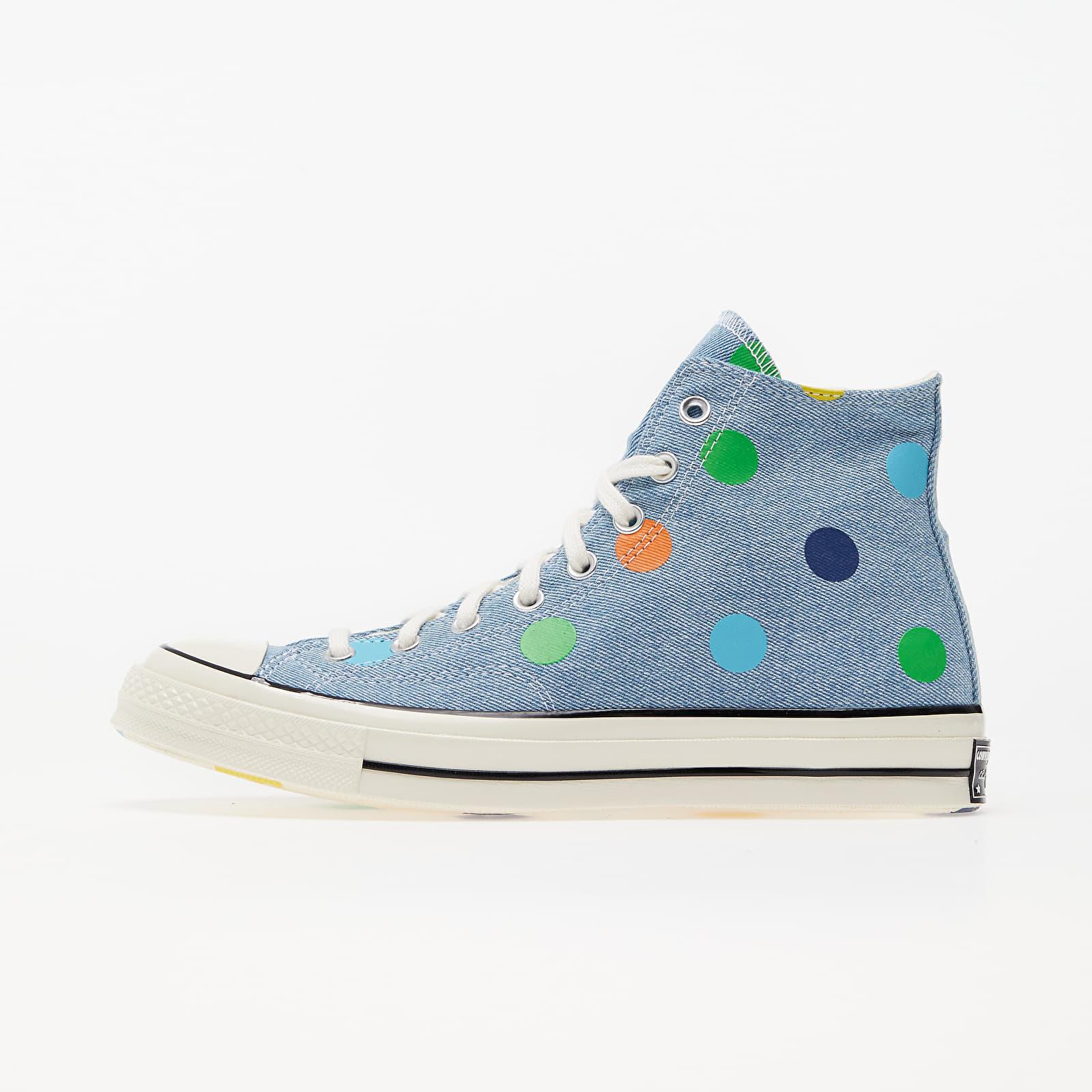 """Men's shoes Converse x Golf Wang """"Polka Dot"""" Chuck 70 Hi Blue/ Egret/ Black"""