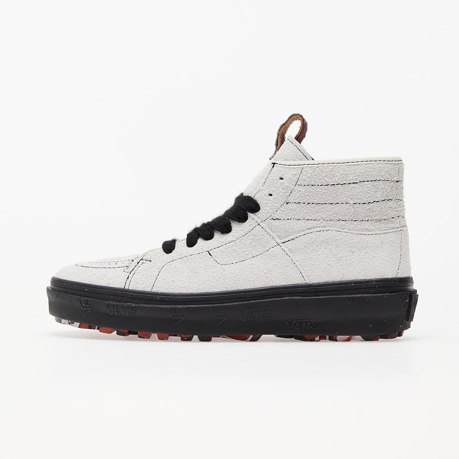Men's shoes Vans Vans x Taka Hayashi Sk8-Boot LX (Suede) Marshmallow/ Bossa Nova