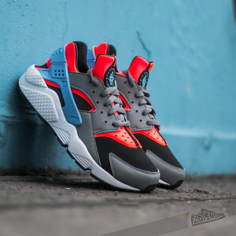 05eb8604761 Nike Air Huarache Bright Crimson  University Blue-Cool Grey