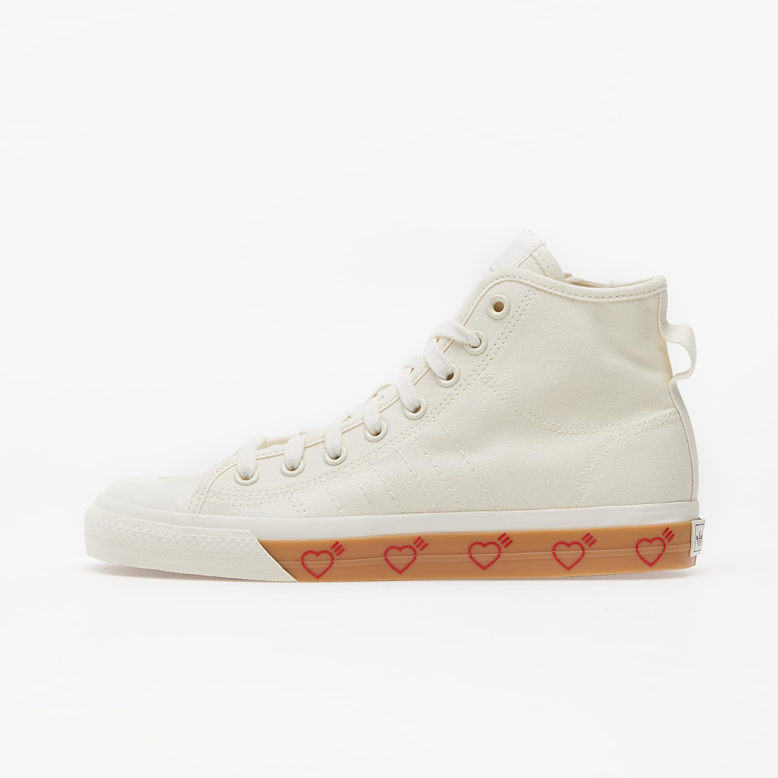 adidas Nizza Hi Human Made Off White/ Off White/ Off White EUR 47 1/3