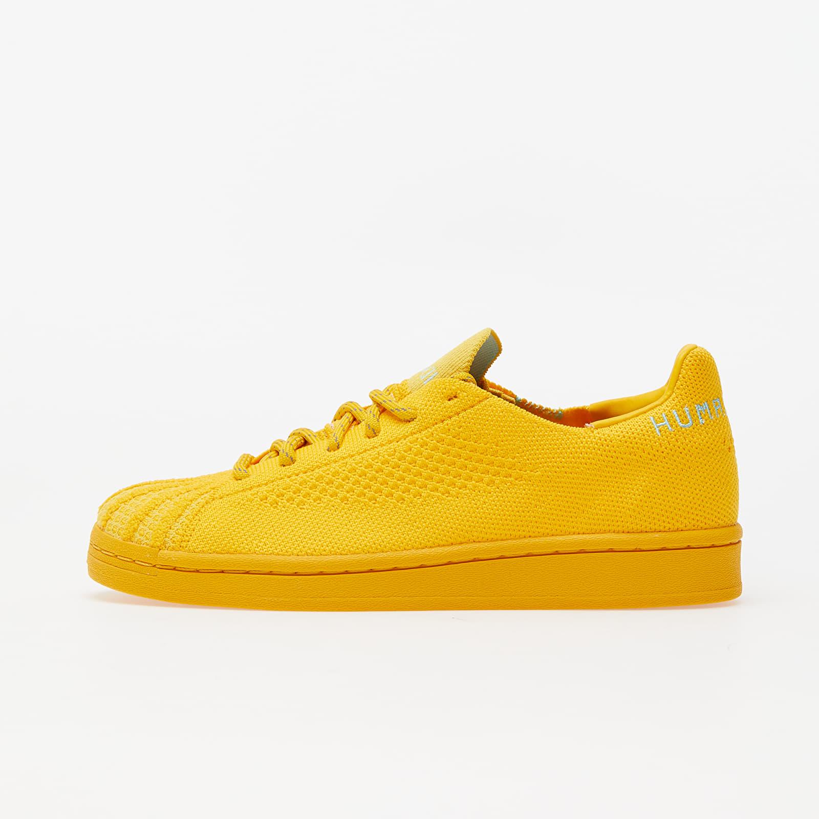 Încălțăminte și sneakerși pentru bărbați adidas Pw Superstar Pk Bold Gold/ Cardboard/ Clear Aqua