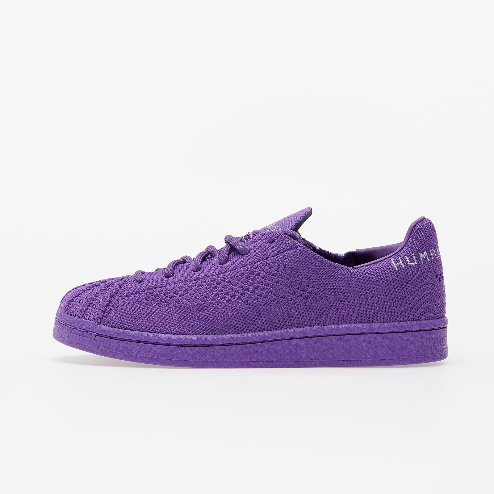 Încălțăminte și sneakerși pentru bărbați adidas x Pharrell Williams Superstar Pk Active Purple/ Grey Two/ Night Red