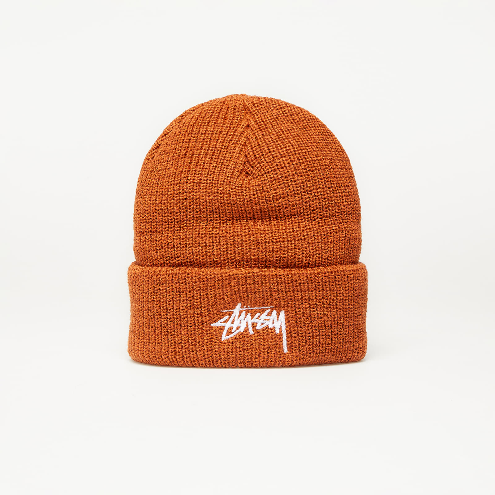 Hats Stüssy Stock Cuff Beanie Burnt Orange