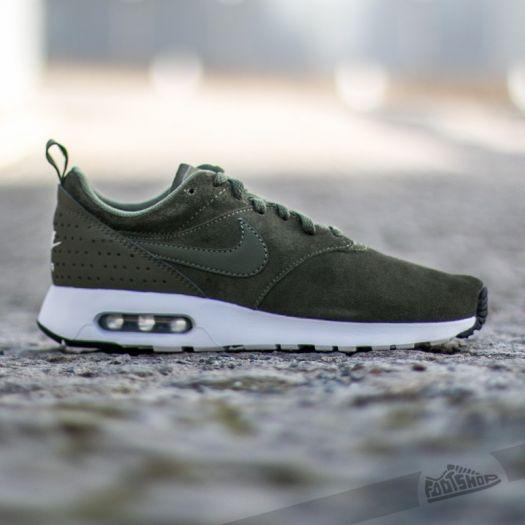 Punto de exclamación Camarada alimentar  Men's shoes Nike Air Max Tavas Leather Cargo Khaki/Medium Olive-White |  Footshop