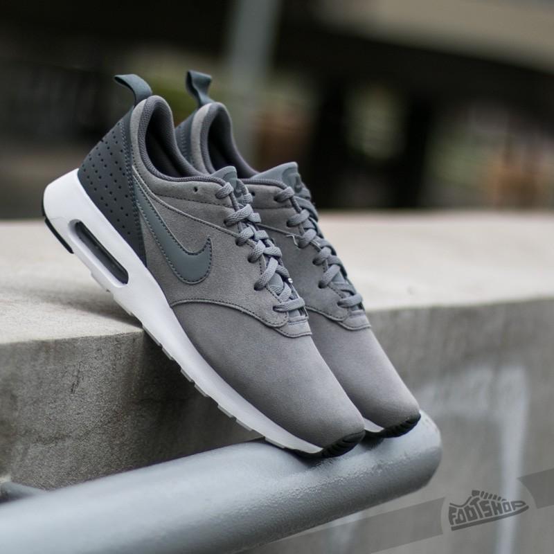 Nike Air Max Tavas Leather Cool GreyCool Grey Dark Grey White | Footshop