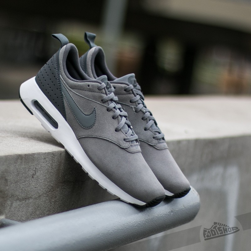 pretty nice 324d9 c5fd6 Nike Air Max Tavas Leather Cool GreyCool Grey-Dark Grey-White