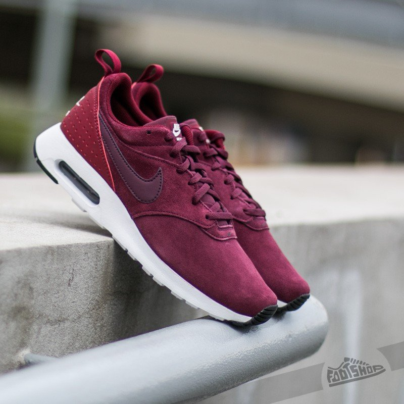 67cc105adf Nike Air Max Tavas Leather Night Maroon/ Night Maroon- Team Red ...