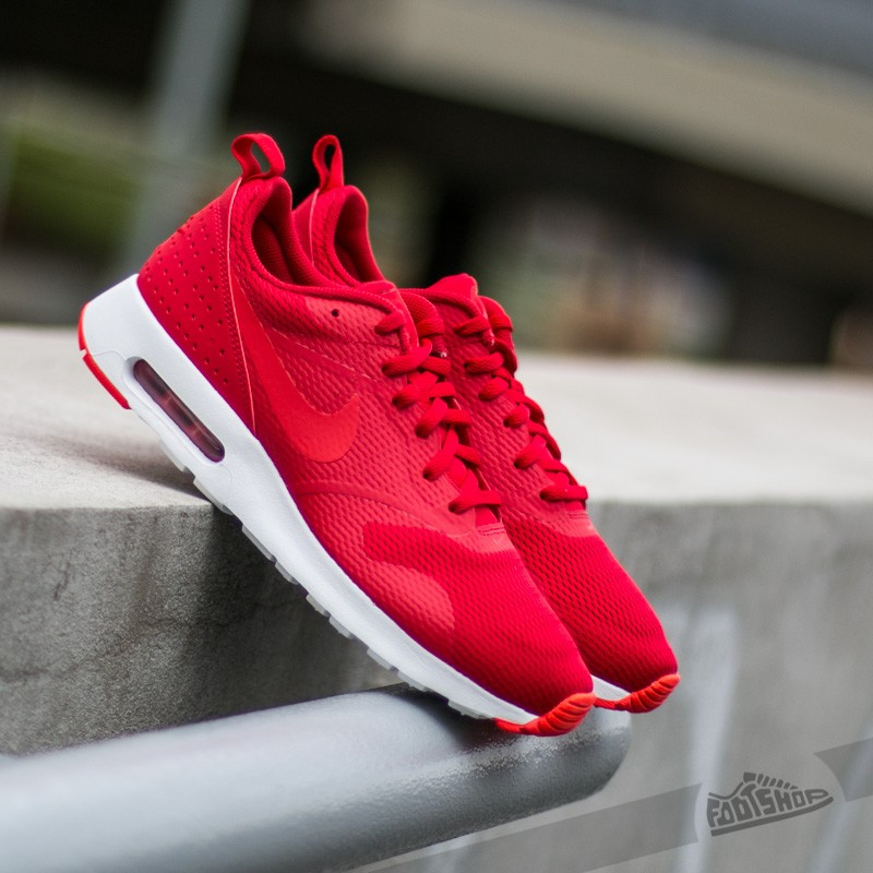 reputable site 7be48 4b577 Nike Air Max Tavas University Red Light Crimson-White