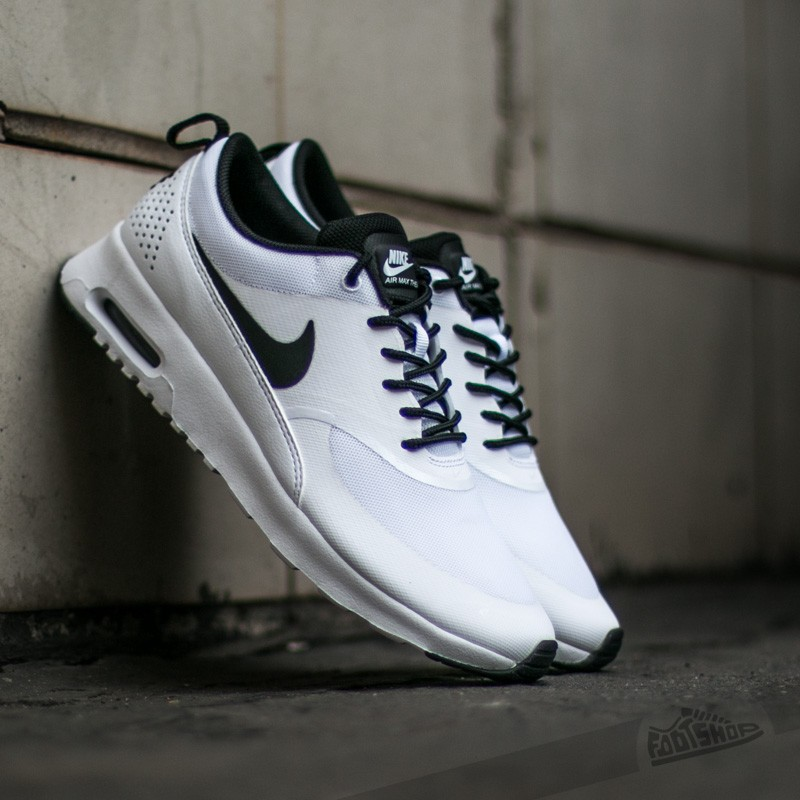 best loved c7239 782c9 Nike Wmns Air Max Thea White Black-White