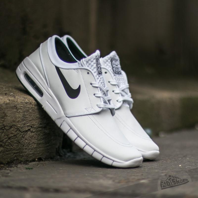 Nike Stefan Janoski Max L White  Black  a92093374d61