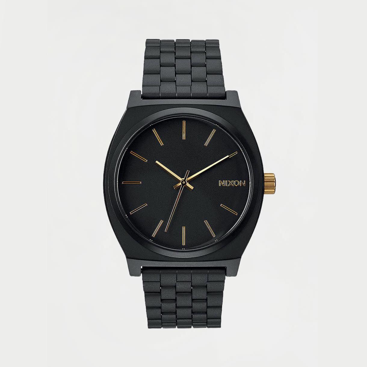 Montres Nixon Time Teller Matte Black/ Gold