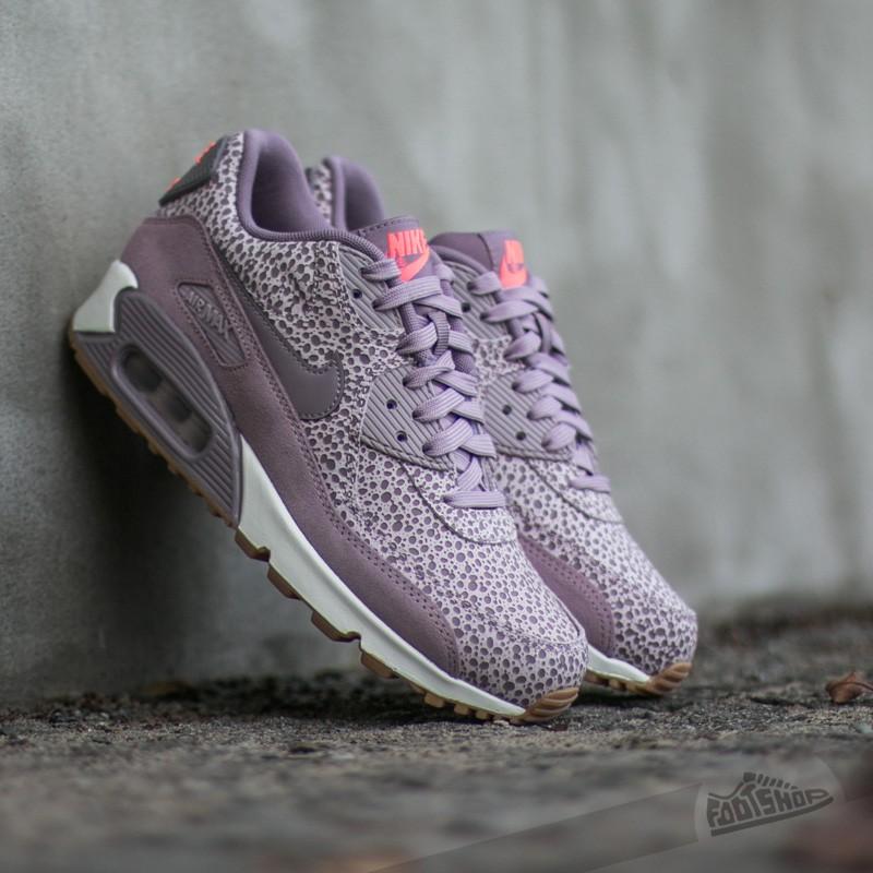 Artefacto formar apoyo  Women's shoes Nike Wmns Air Max 90 Premium Plum Fog/ Purple Smoke-Blenched  Lilac-Phantom
