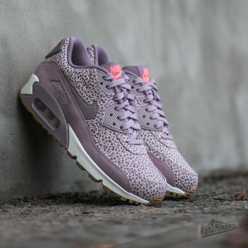 66833f2b016a Nike Wmns Air Max 90 Premium Plum Fog  Purple Smoke-Blenched Lilac-Phantom