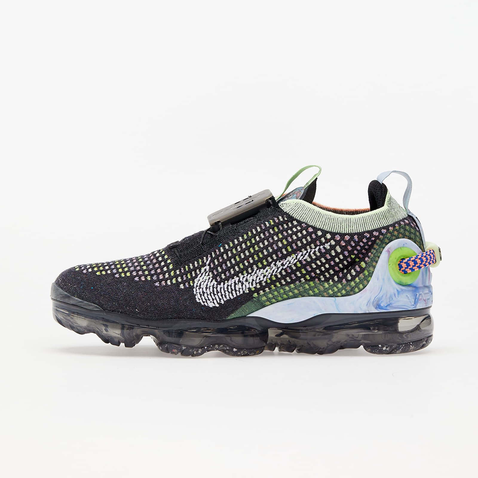 Nike W Air Vapormax 2020 Fk Black/ White-Barely Volt-Atomic Pink EUR 38.5