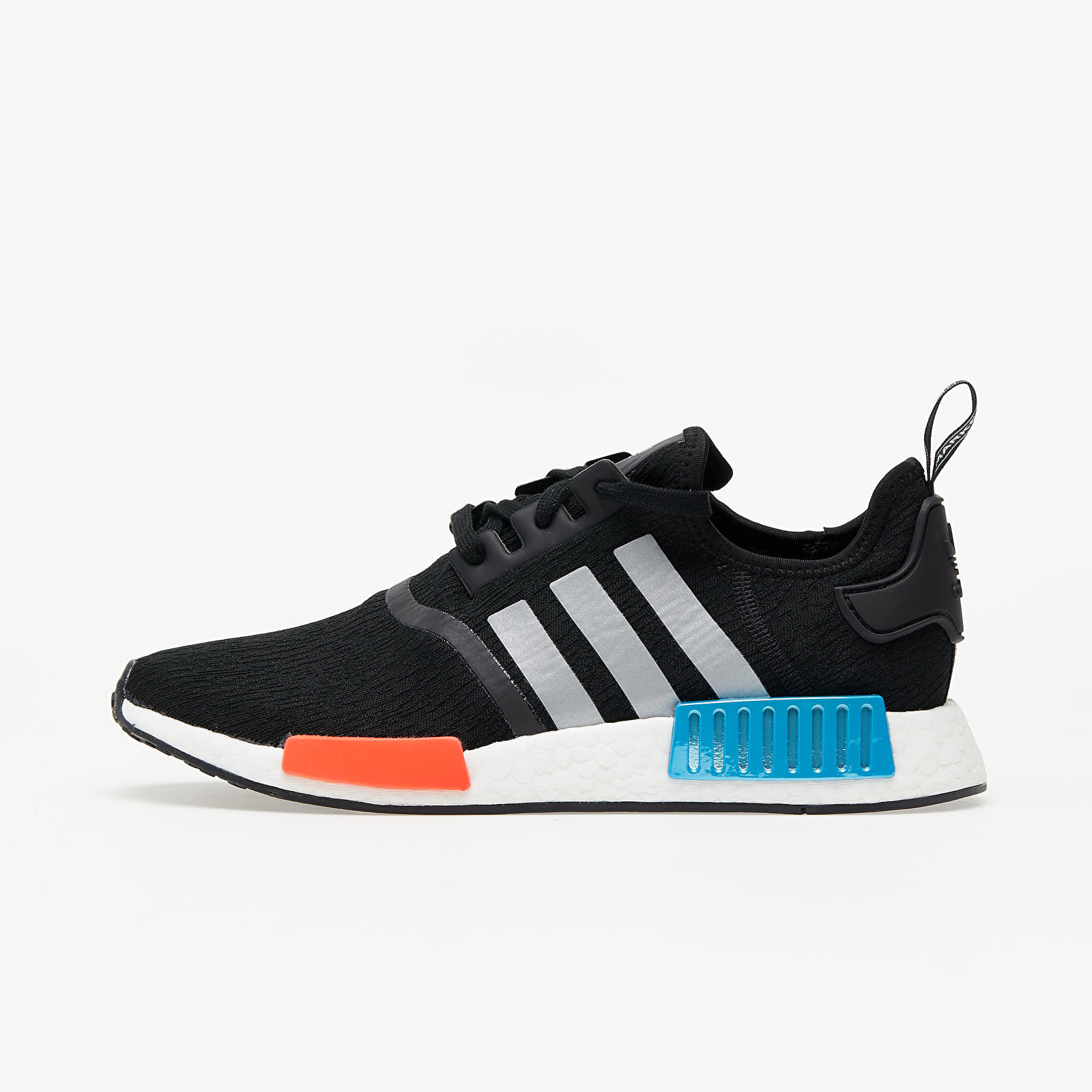 adidas NMD_R1 Core Black/ Silver Met./ Solar Red EUR 43 1/3
