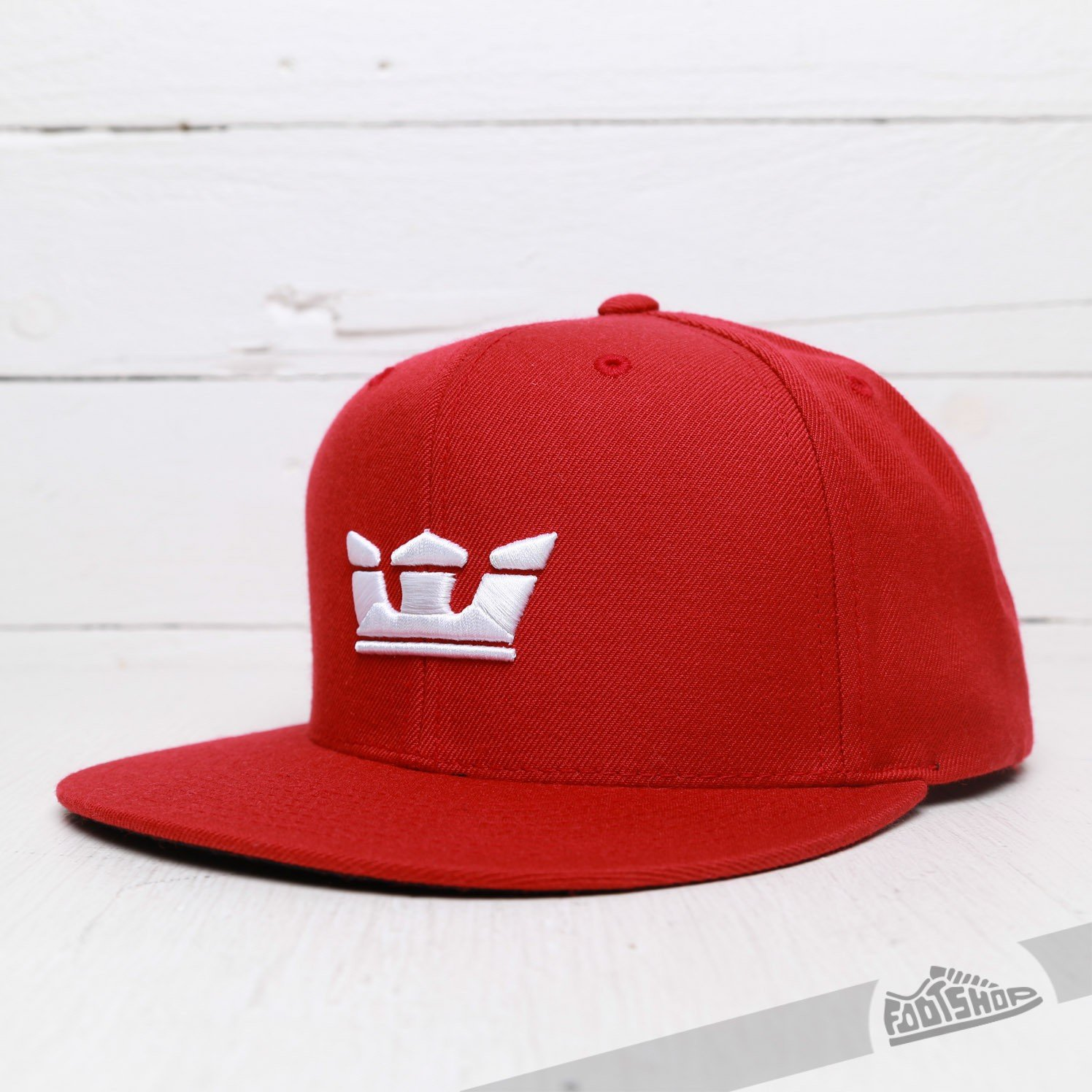 Supra Icon Snapback Hat Red  413d01b4963