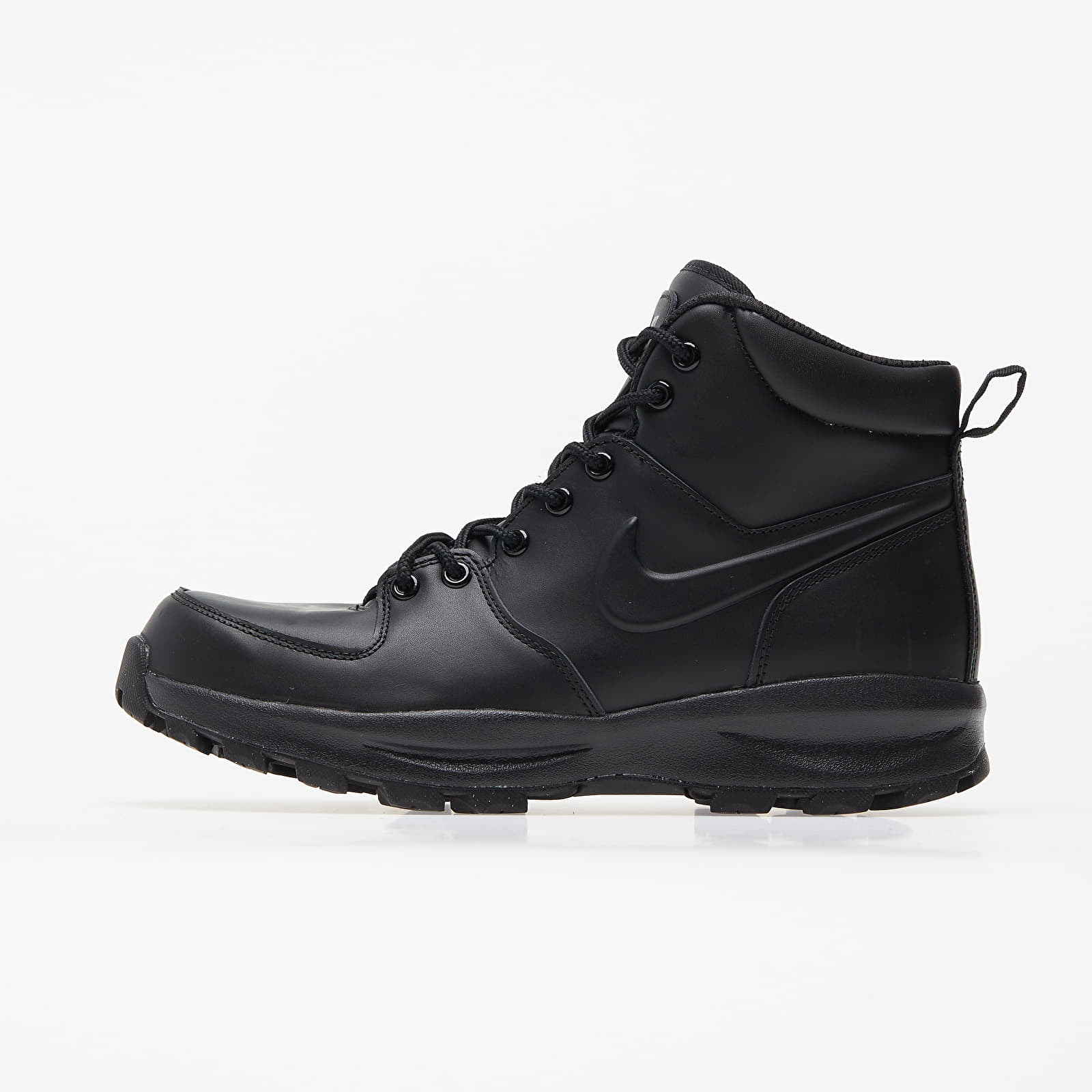 Nike Manoa Leather Black/ Black-Black EUR 40.5