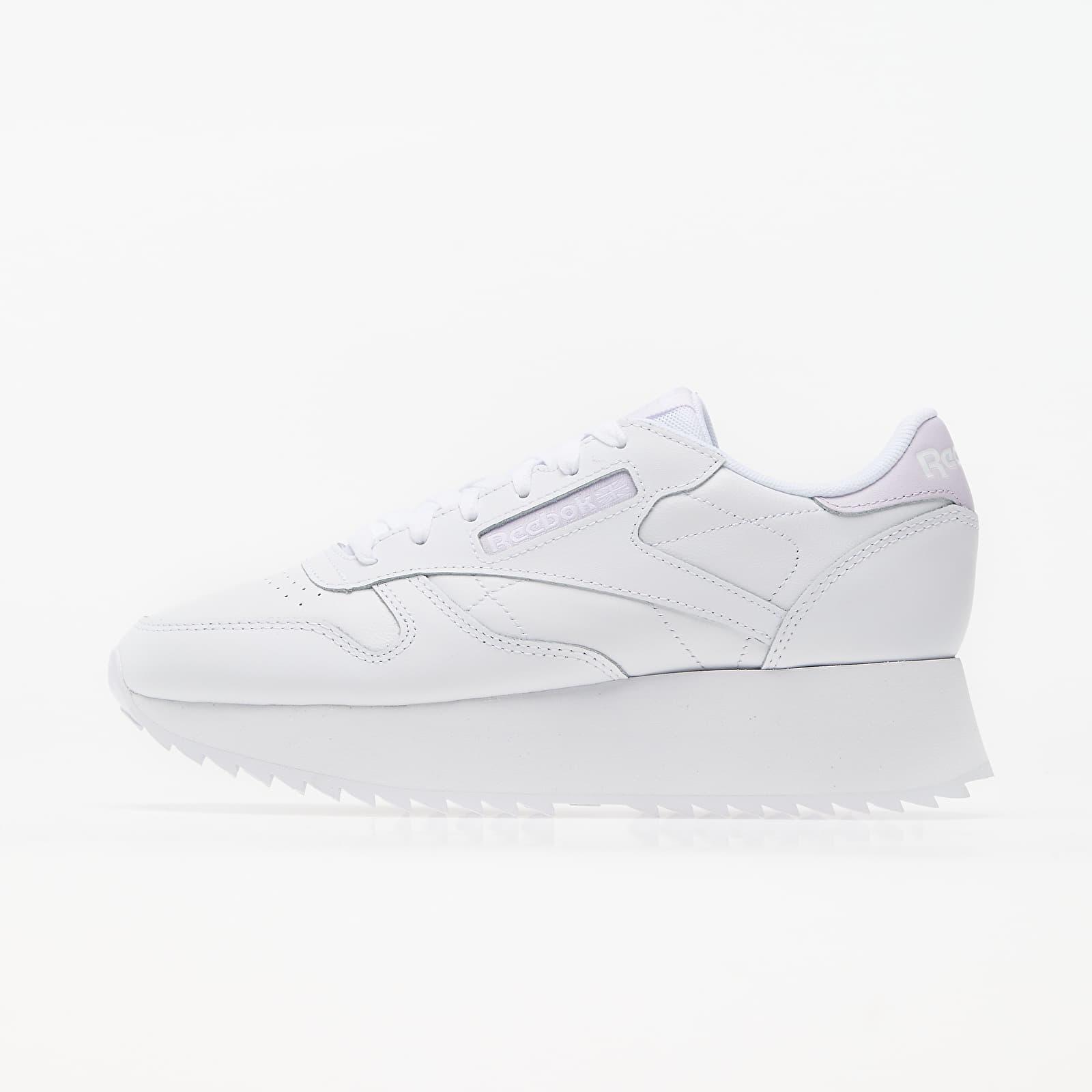 Reebok Club Leather Double White/ Luminous Lilac/ White EUR 40.5