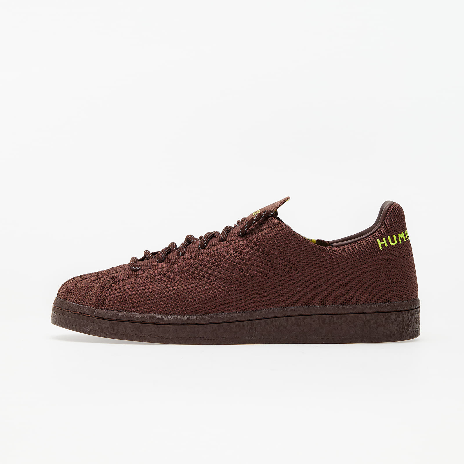 Încălțăminte și sneakerși pentru bărbați adidas x Pharrell Williams Superstar Pk Aurora Burn/ Bright Yellow/ Core Brown