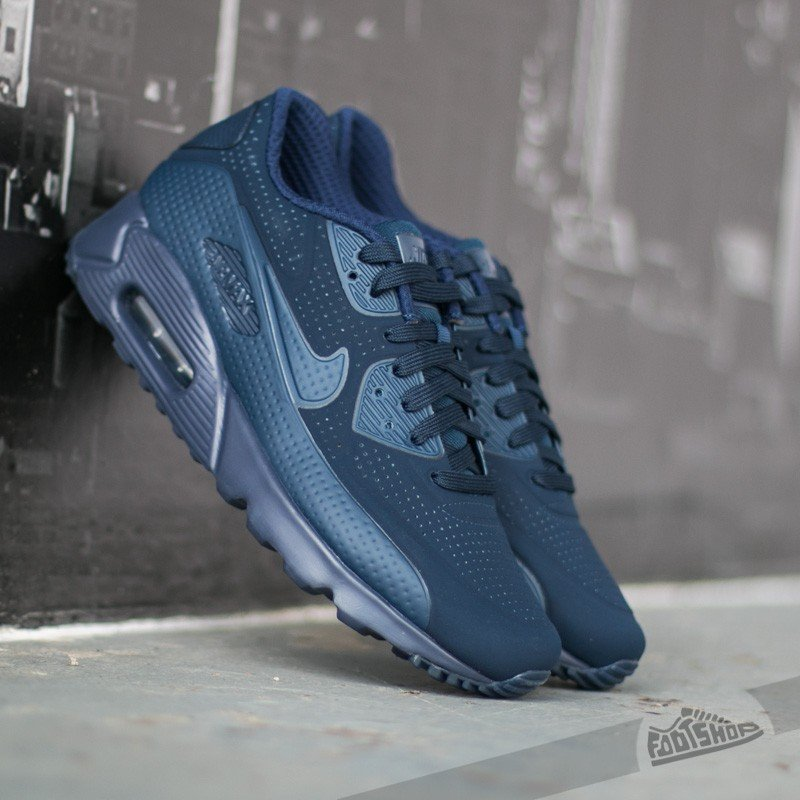 separation shoes 42e59 8adb3 Nike Air Max 90 Ultra Moire Midnight Navy/ Mid Navy White | Footshop