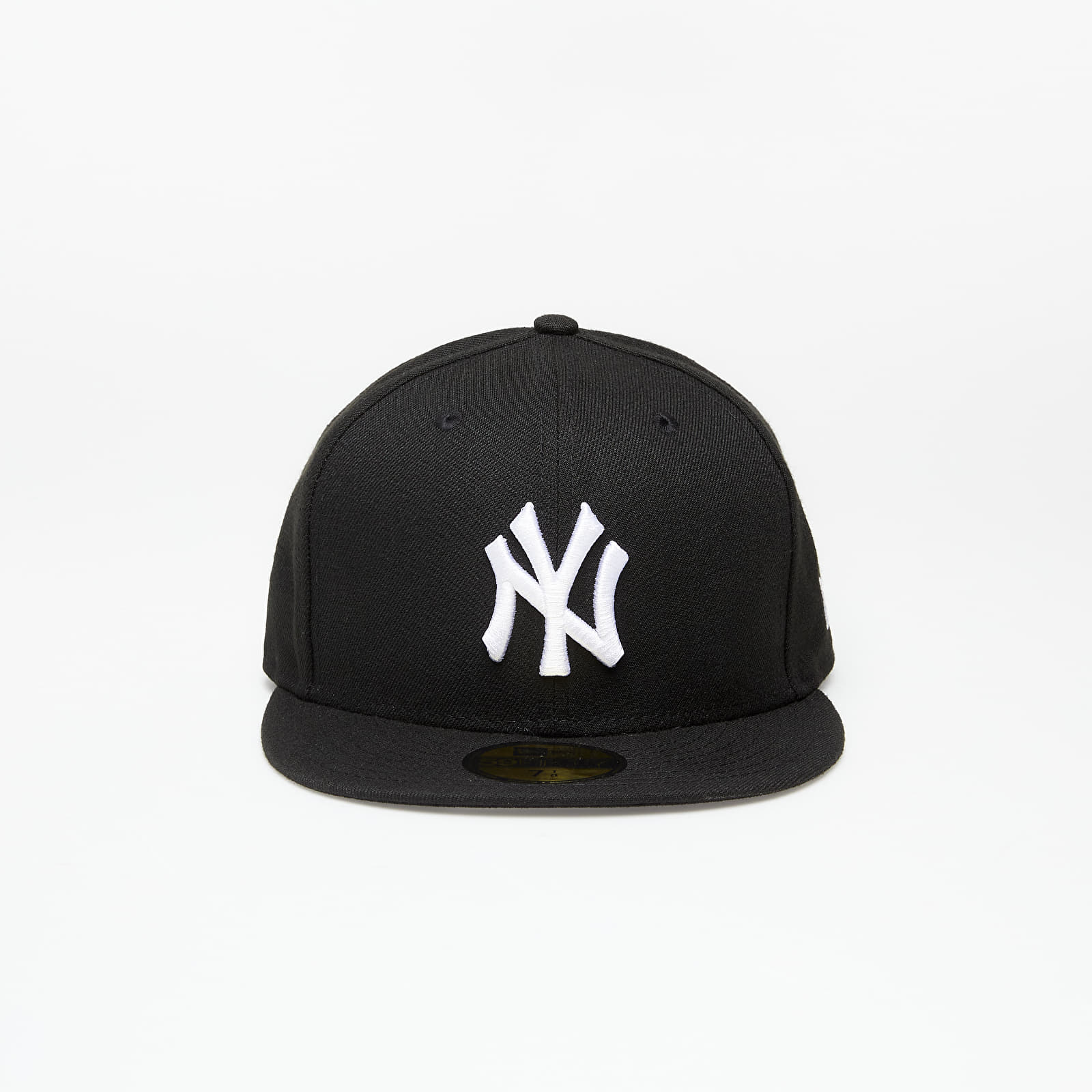 New Era Cap 59Fifty Mlb Basic New York Yankees Black/ White Log 7 1/8