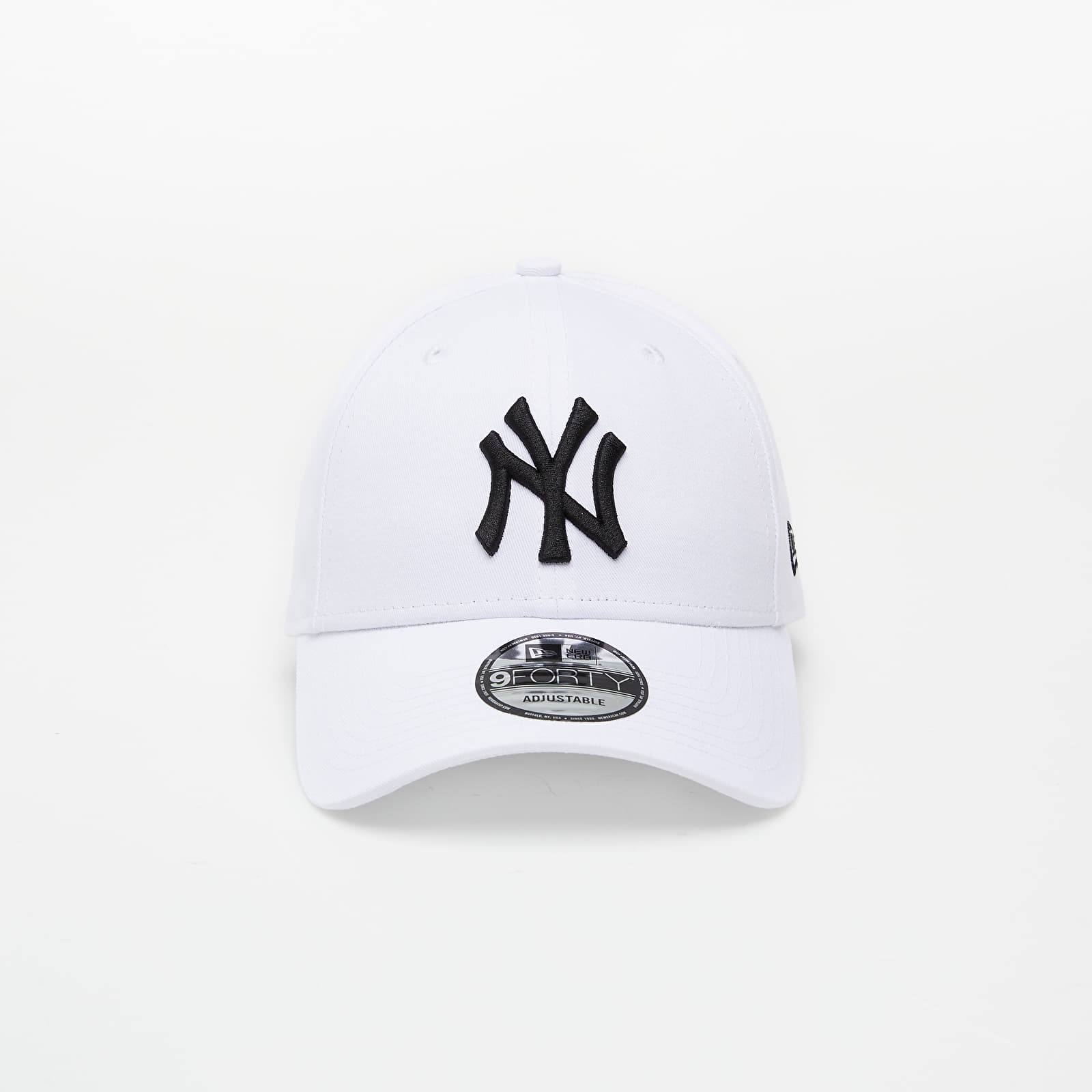 Petten New Era Cap 9Forty Mlb League Basic New York Yankees White/ Black