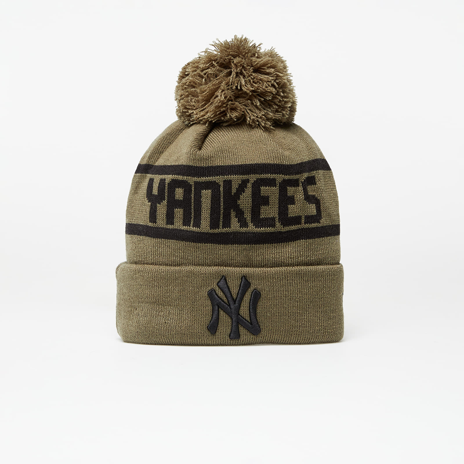 New Era Beanie Mlb Team Jake Bobble Cuff Knit New York Yankees Novblack EUR