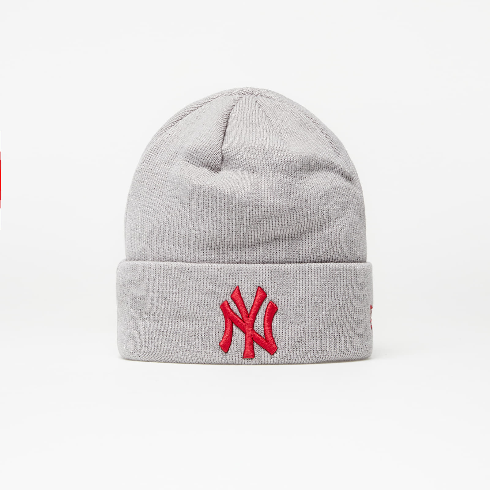 New Era Beanie Mlb League Essential Cuff Knit New York Yankees Grey EUR