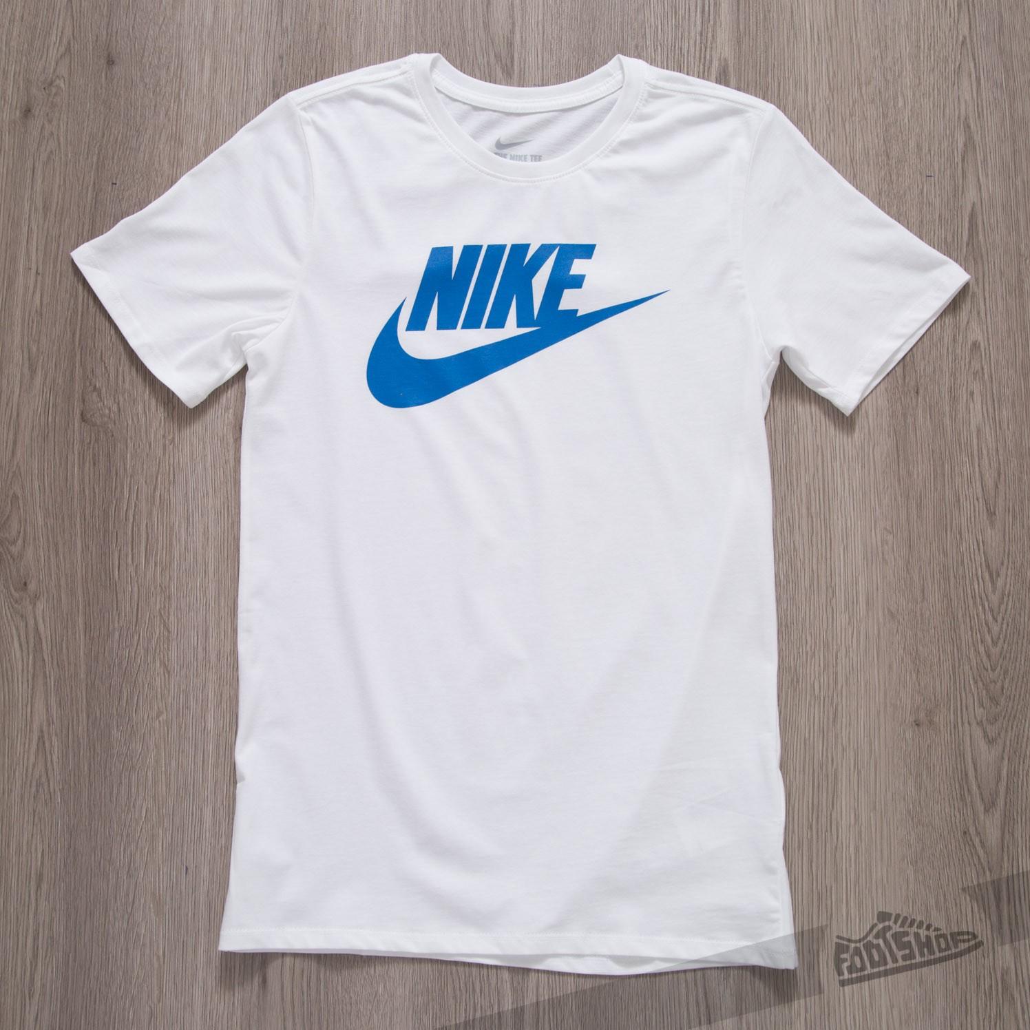 9cdd42075898 Nike Tee-Futura Icon White