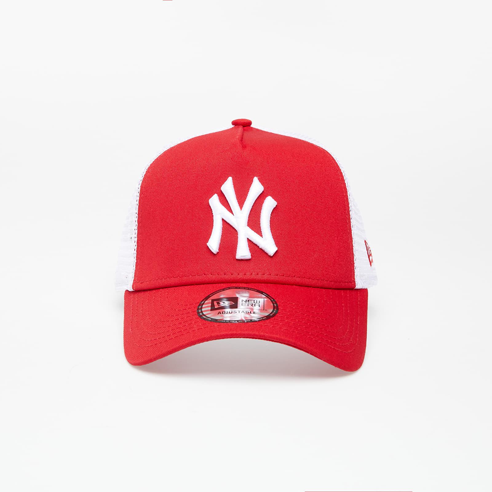 New Era Cap Clean Trucker 2 New York Yankees Scarlet/ White EUR